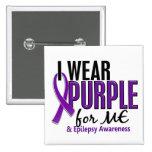 Llevo la púrpura para MÍ la epilepsia 10 Pin