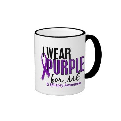 Llevo la púrpura para MÍ la epilepsia 10 Taza
