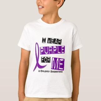 Llevo la púrpura para mí la epilepsia 37 playera