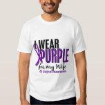Llevo la púrpura para mi lupus de la esposa 10 playeras