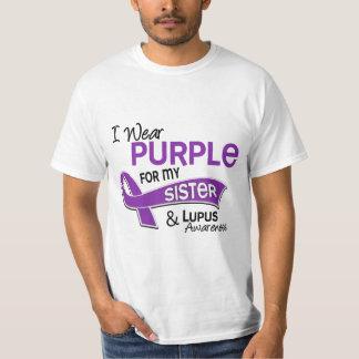 Llevo la púrpura para mi lupus de la hermana 42 playera