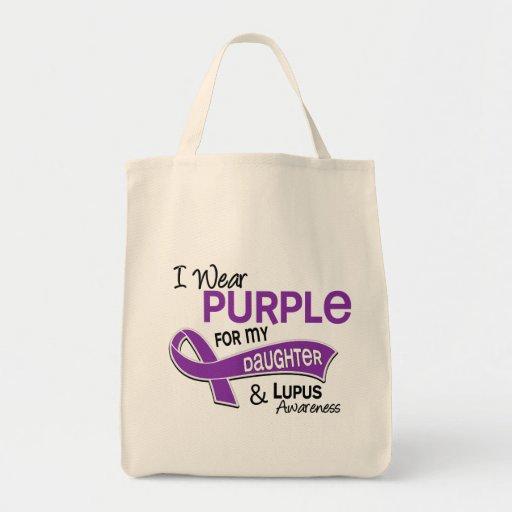 Llevo la púrpura para mi lupus de la hija 42 bolsas