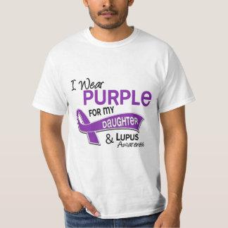 Llevo la púrpura para mi lupus de la hija 42 playeras