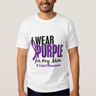 Llevo la púrpura para mi lupus de la mamá 10 playera