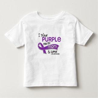 Llevo la púrpura para mi lupus de la mamá 42 polera