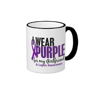 Llevo la púrpura para mi lupus de la novia 10 tazas