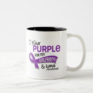 Llevo la púrpura para mi lupus de la novia 42 taza