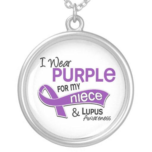 Llevo la púrpura para mi lupus de la sobrina 42 joyerias