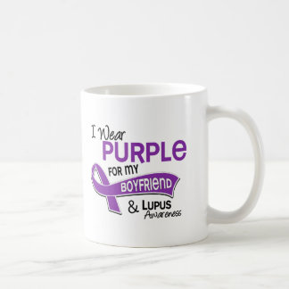 Llevo la púrpura para mi lupus del novio 42 taza de café