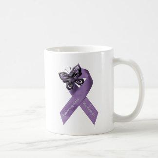 Llevo la púrpura para mi…. taza clásica