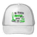 Llevo la verde lima 37 yo y mi enfermedad de Lyme  Gorro De Camionero