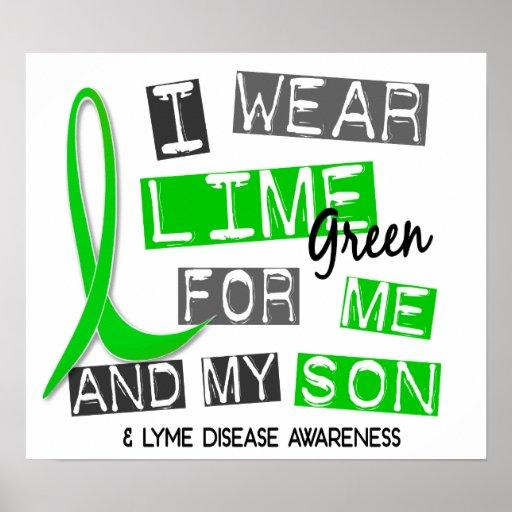 Llevo la verde lima 37 yo y mi enfermedad de Lyme  Posters