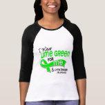 Llevo la verde lima 42 yo enfermedad de Lyme Camisetas