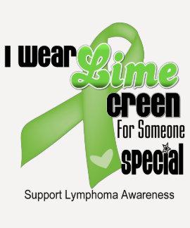 Llevo la verde lima para alguien especial - camiseta