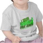 Llevo la verde lima para el gran linfoma de la abu camisetas