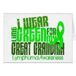 Llevo la verde lima para el gran linfoma de la abu felicitaciones