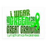 Llevo la verde lima para el gran linfoma de la abu postal
