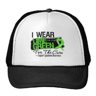 Llevo la verde lima para la curación - linfoma gorras de camionero