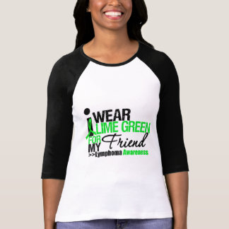 Llevo la verde lima para mi amigo camisetas