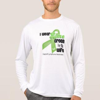 Llevo la verde lima para mi esposa - linfoma camiseta