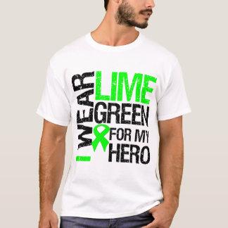 Llevo la verde lima para mi héroe - linfoma playera