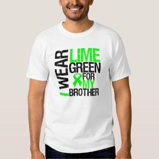 Llevo la verde lima para mi linfoma de Brother Camisas