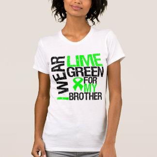 Llevo la verde lima para mi linfoma de Brother Playera