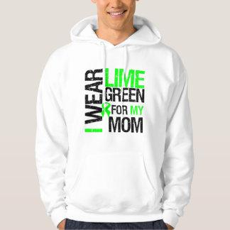 Llevo la verde lima para mi linfoma de la mamá sudadera