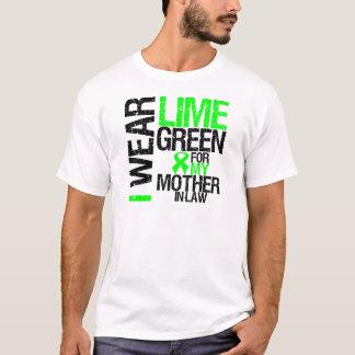 Llevo la verde lima para mi linfoma de la suegra playera