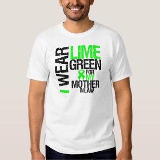 Llevo la verde lima para mi linfoma de la suegra remeras