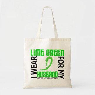 Llevo la verde lima para mi linfoma del marido 46 bolsa tela barata