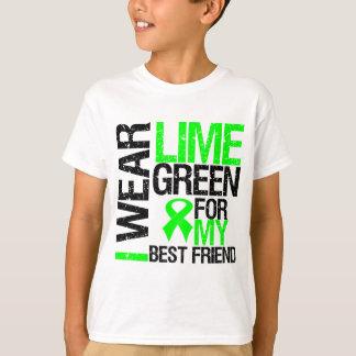 Llevo la verde lima para mi linfoma del mejor playeras