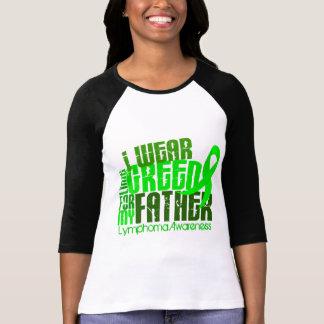 Llevo la verde lima para mi linfoma del padre 6 4 camisetas