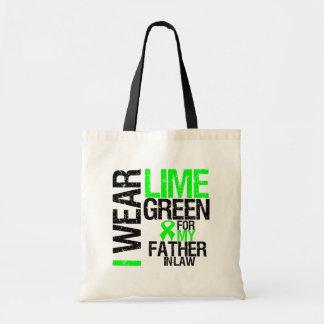 Llevo la verde lima para mi linfoma del suegro bolsa