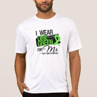 Llevo la verde lima para mí - linfoma camiseta