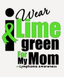 Llevo la verde lima para mi mamá camiseta