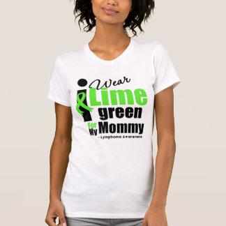 Llevo la verde lima para mi mamá t shirt