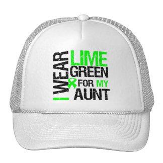 Llevo la verde lima para mi tía Lymphoma Gorras