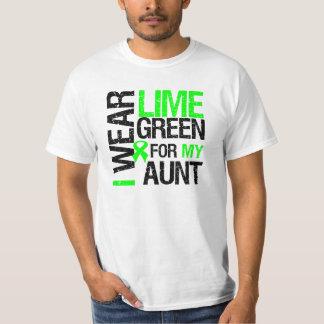 Llevo la verde lima para mi tía Lymphoma Playera
