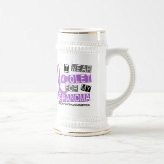 Llevo la violeta para el linfoma de mi Hodgkin de  Taza De Café
