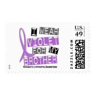 Llevo la violeta para mi el linfoma de Brother 37 Franqueo