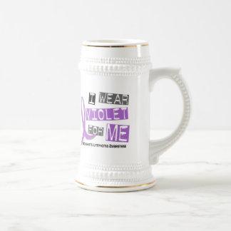 Llevo la violeta para mí el linfoma de Hodgkin Tazas De Café