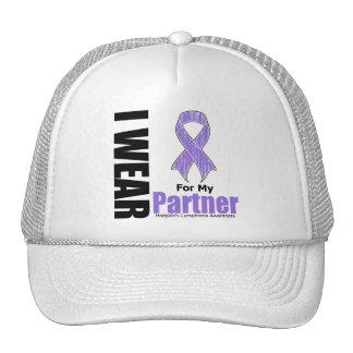 Llevo la violeta para mi enfermedad de Hodgkins de Gorras De Camionero