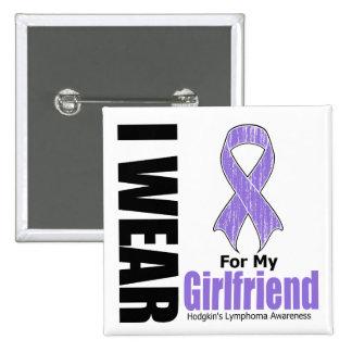 Llevo la violeta para mi enfermedad de Hodgkins de Pins