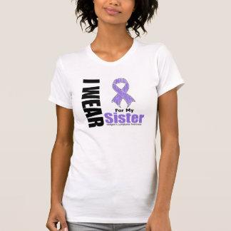 Llevo la violeta para mi enfermedad de Hodgkins de Camiseta
