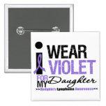 Llevo la violeta para mi hija pins