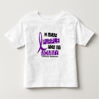 Llevo Puple para mi epilepsia de la mamá 37 Camisas