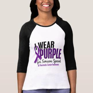 Llevo púrpura alguien el cáncer pancreático 10 esp camiseta