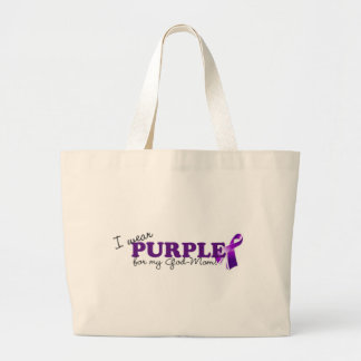 Llevo púrpura bolsas de mano