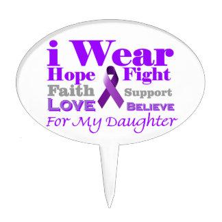 Llevo púrpura - mi hija tiene epilepsia palillos de tarta